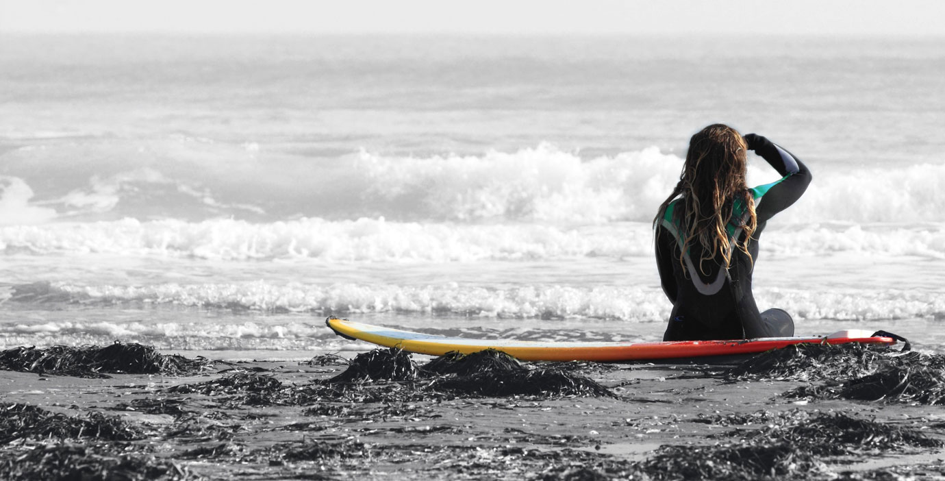 Jersey Strong Surfer Girl